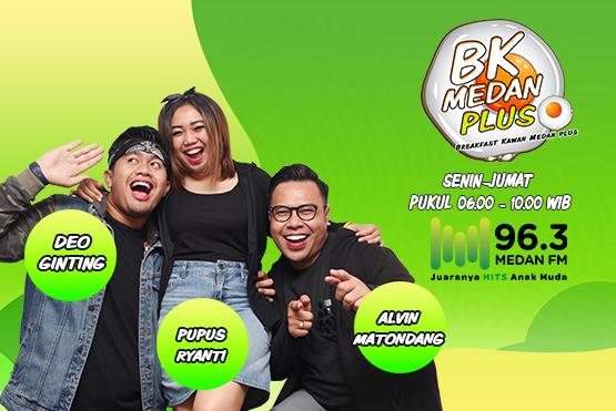 BK MEDAN (Breakfast Kawan Medan) PLUS
